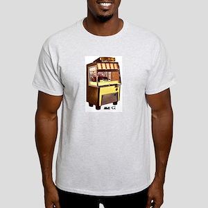 """AMI """"G"""" Ash Grey T-Shirt"""