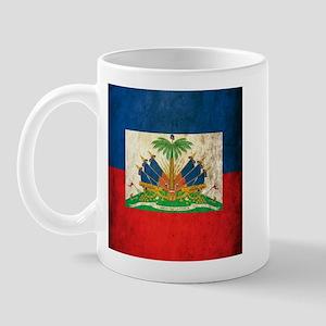 Grunge Haiti Flag Mug
