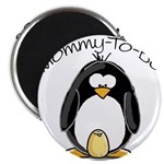Mommy to Be Penguin Magnet