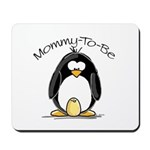 Mommy to Be Penguin Mousepad