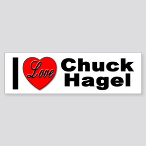 I Love Chuck Hagel Bumper Sticker