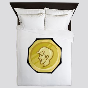 Money Queen Duvet