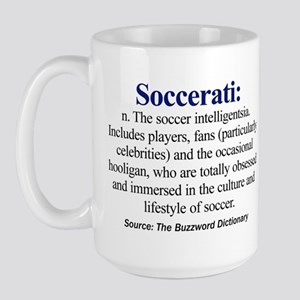 Soccerati - Large Mug