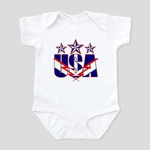 Stars and stripes Infant Bodysuit