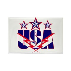 Stars and stripes Rectangle Magnet (10 pack)