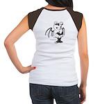 White Gretchling Women's Cap Sleeve T-Shirt