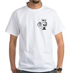 White Gretchling White T-Shirt