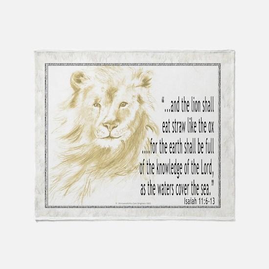 Christian Scripture Throw Blanket
