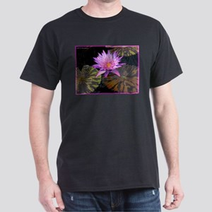 Waterlily! Beautiful photo! Dark T-Shirt
