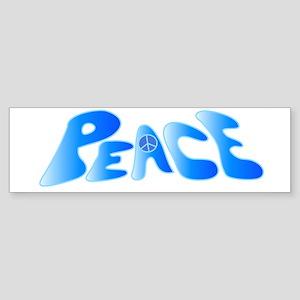 Groovy Peace Bumper Sticker
