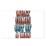 What Comes Out of a Man Postcards (Package of 8)