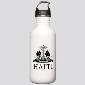 Haiti Coat Of Arms Stainless Water Bottle 1.0L