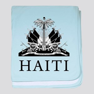 Haiti Coat Of Arms baby blanket