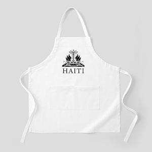 Haiti Coat Of Arms Apron