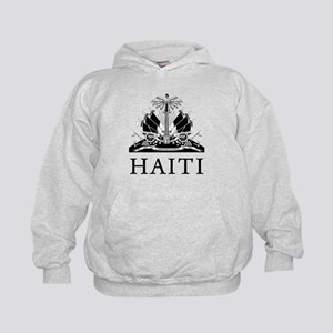 Haiti Coat Of Arms Kids Hoodie