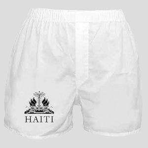 Haiti Coat Of Arms Boxer Shorts