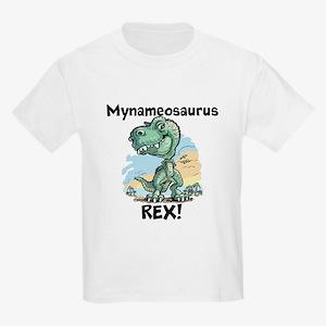Personalizable Rex Kids Light T-Shirt