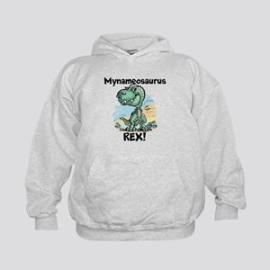 Personalizable Rex Kids Hoodie