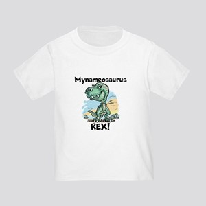 Personalizable Rex Toddler T-Shirt