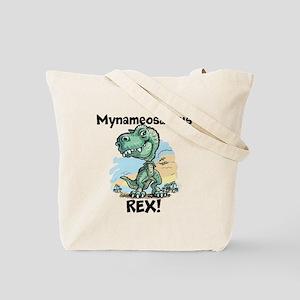 Personalizable Rex Tote Bag