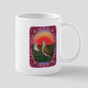 Doves Framed Mug