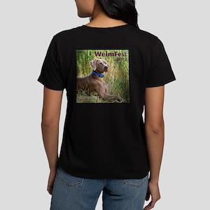 WeimFest 2012 Women's Dark T-Shirt