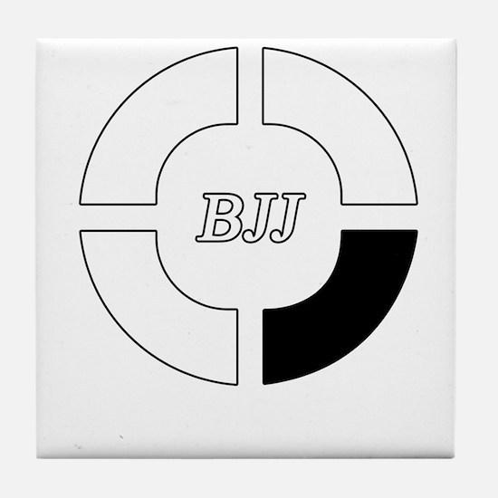 brazilian jiu jitsu Tile Coaster
