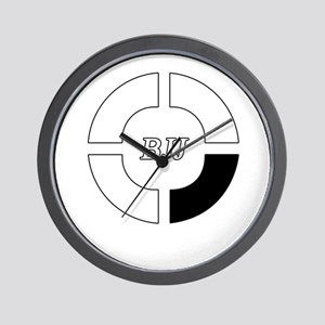 brazilian jiu jitsu Wall Clock