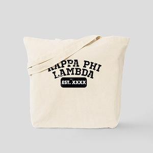 Kappa Phi Lambda Athletic Tote Bag