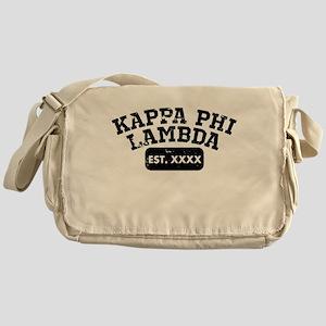 Kappa Phi Lambda Athletic Messenger Bag