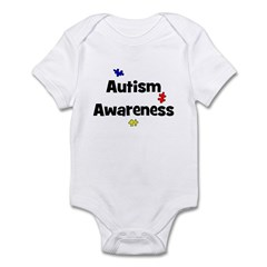 Autism Awareness (black) Infant Creeper