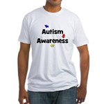 Autism Awareness (black) Fitted T-Shirt