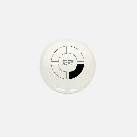 brazilian jiu jitsu Mini Button
