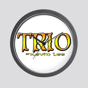 TRIO by Kevin Lee Wall Clock