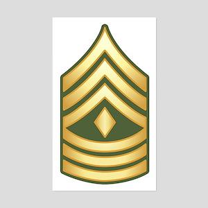 First Sergeant Sticker (Rectangle)