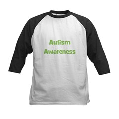 Autism Awareness Kids Baseball Jersey