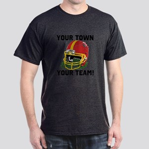 Helmet Red and Gold Dark T-Shirt