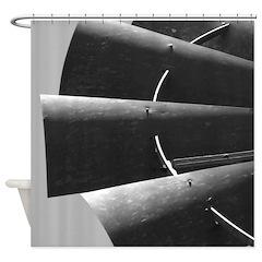 Windmill Blades Photograph Shower Curtain