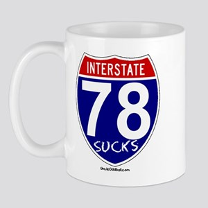 Route 78 Sucks Mug