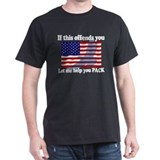 Military Mens Classic Dark T-Shirts
