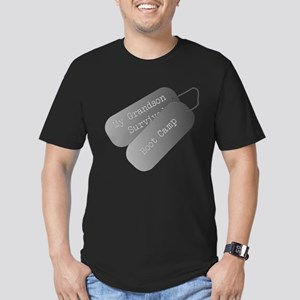 My Grandson survived boot camp Men's Fitted T-Shir