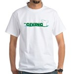 The Giving T White T-Shirt