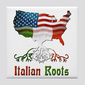 American Italian Roots Tile Coaster