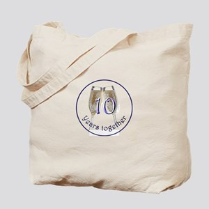 Celebrate 10 Years Together! Tote Bag