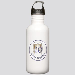 Celebrate 10 Years Together! Stainless Water Bottl