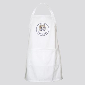 Celebrate 10 Years Together! Apron