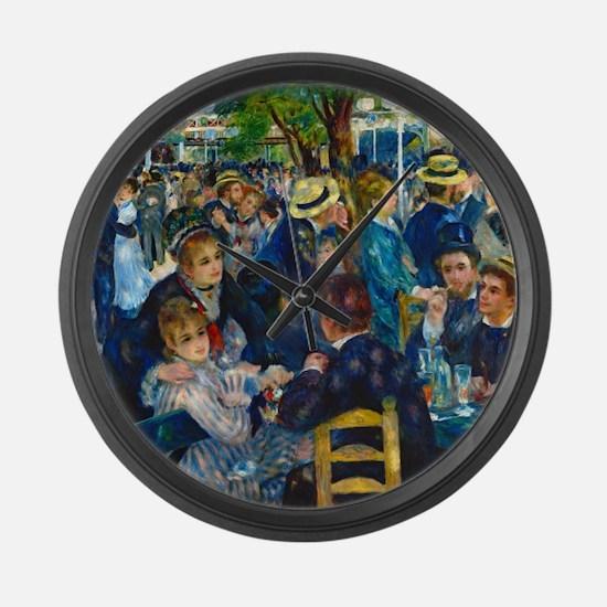Renoir - Galette Large Wall Clock