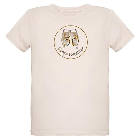 50 Years Together Organic Kids T-Shirt