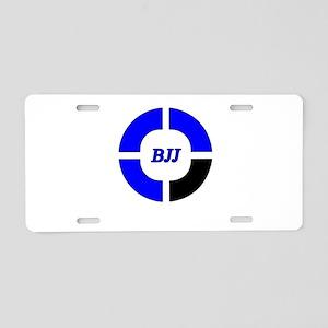 brazilian jiu jitsu Aluminum License Plate