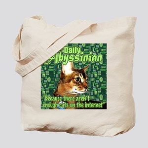Daily Abyssinian Tote Bag